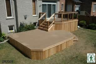 Two Level Deck Designs Photo by Deck Plan 2r7008 Diy Deck Plans