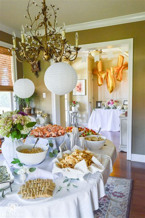 southern garden party bridal shower ideas grand food