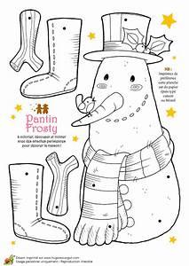 Auto Top Pantin : coloriage et activit s no l tendresse pantin frosty le bonhomme de neige ~ Gottalentnigeria.com Avis de Voitures