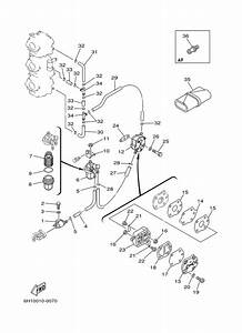 2003 Yamaha Fuel 1 Parts For 90 Hp 90tlrb Outboard Motor