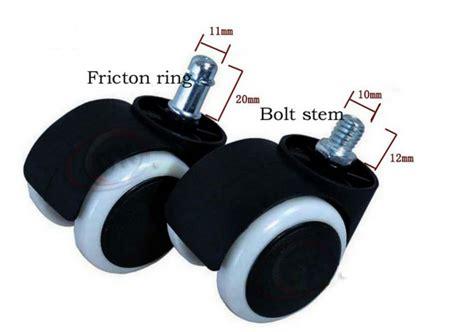 roulettes pour fauteuil de bureau chine usine pour les fauteuils roulants roues pivotantes