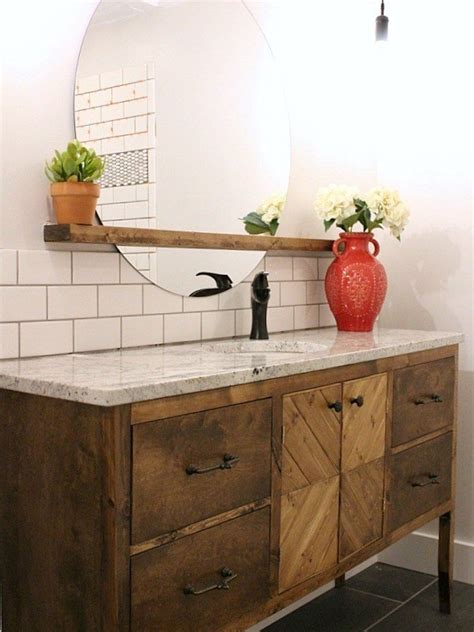 Bathroom Vanities - diy bathroom vanity 12 bathroom rehabs bob vila
