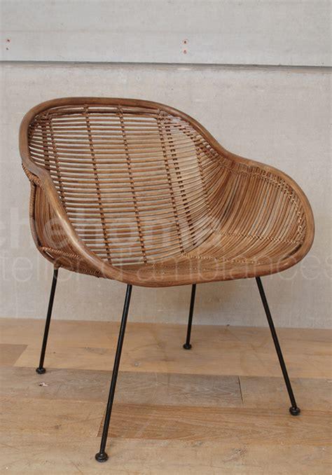 chaises osier fauteuil chehoma fauteuil en osier chehoma