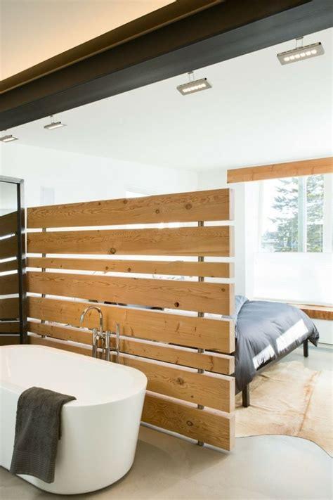 chambre à coucher originale salle de bain dans chambre une tendance élégante et pratique