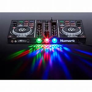 Numark Party Mix DJ Controller with Built-in Lightshow