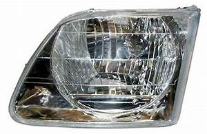 New Replacement Headlight Assembly Lh    For 2001