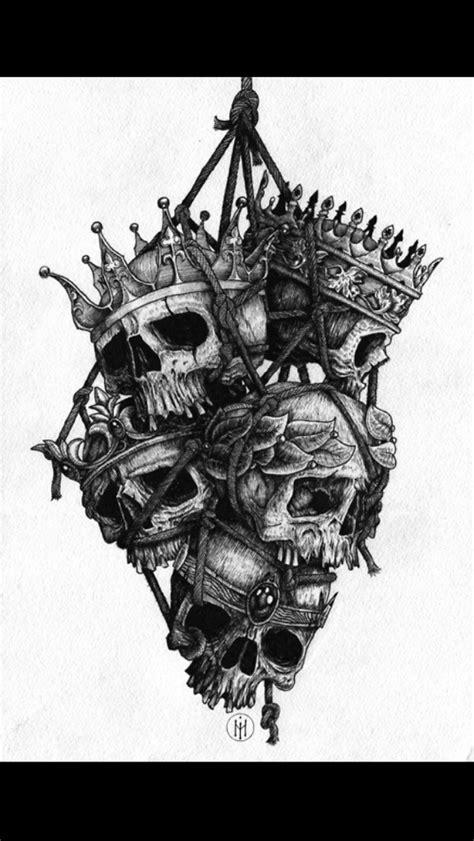 Skull Crown  Inkmafia  Pinterest  Crown, Tattoo And Tatting