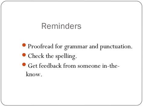 resume writing ppt presentation