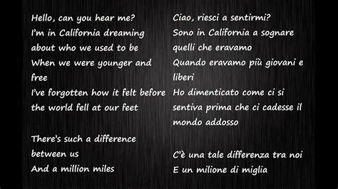We Are The World Testo Italiano by Adele Hello Testo Inglese E Traduzione Italiano