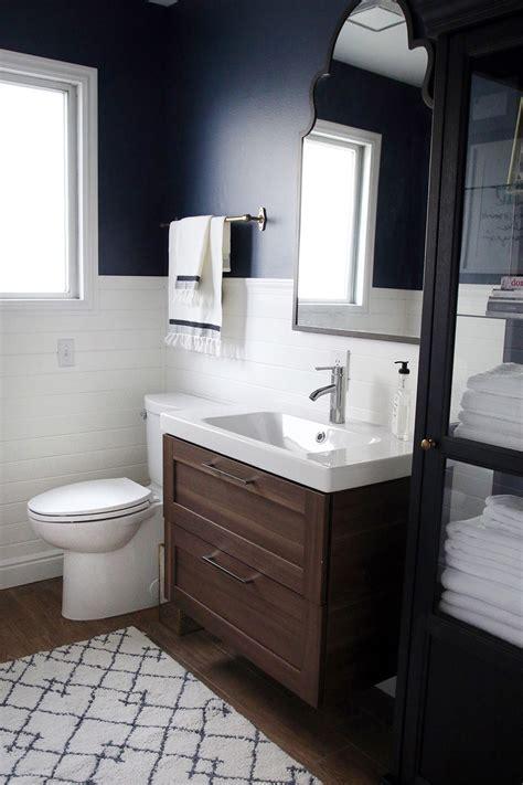 storage ideas for small bathrooms a half bath refresh chris