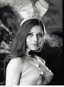 Playboy bunnies on old photos