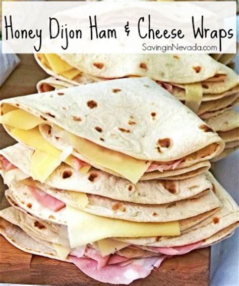 honey dijon ham cheese wrap premeditated leftovers