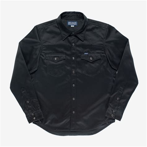 IHSH-245 Black — Brooklyn Clothing