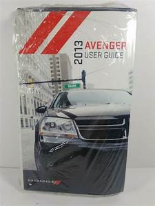2013 Dodge Avenger Owners Manual W   Case New
