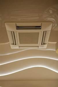 Climatisation Encastrable Plafond : climatisation plafond tendu ~ Premium-room.com Idées de Décoration