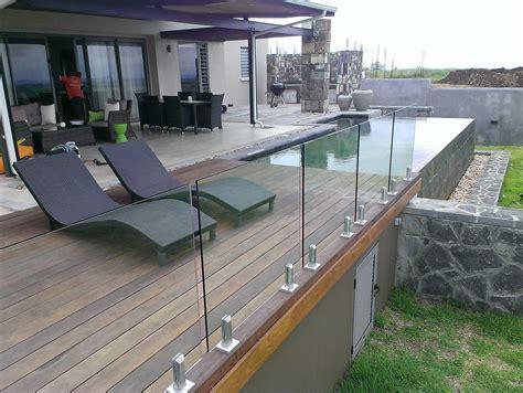 Tempered Glass Deck Railing Ideas