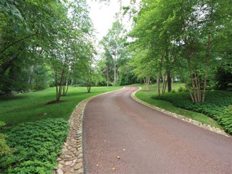 landscaping a driveway a winding driveway