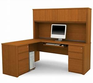 Cool Shaped Desk Hutch House Design Stylish L Shape Desks