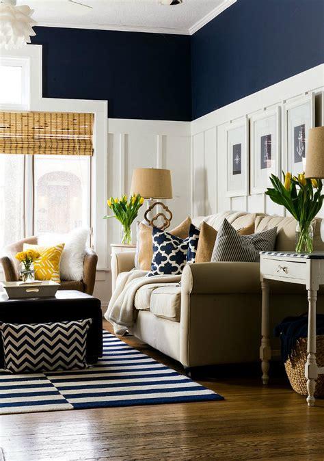 living room ideas mix blue  yellow