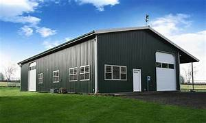 a 50x100 steel building is probably one of the most common With 50x100 pole barn