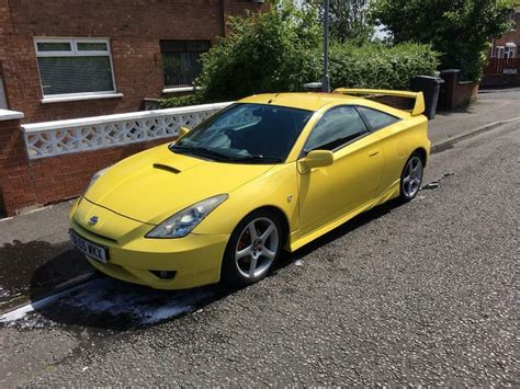 Toyotas For Sale by Toyota Celica Gt For Sale In Antrim Road Belfast Gumtree