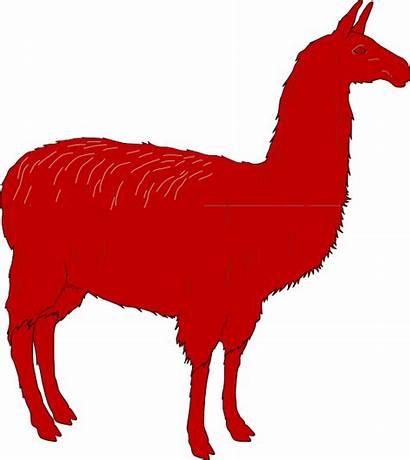Llama Pajama Clipart Svg Clip Transparent Vertebrado
