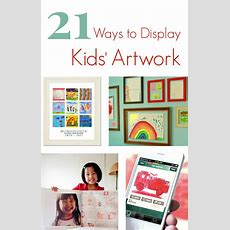 231 Best Displaying Children's Artwork At Home Images On Pinterest