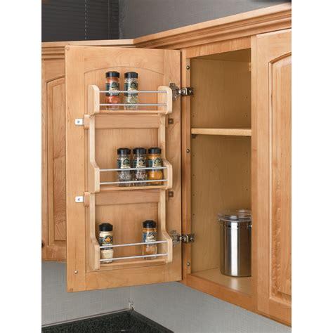 Shop Rev-A-Shelf Wood In-Cabinet Spice Rack at Lowes.com