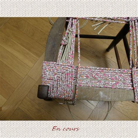 rempailler une chaise avec du tissu recouvrir une chaise en paille finest recouvrir une