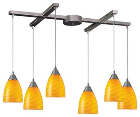 arco baleno 6 light kitchen island pendant track lighting