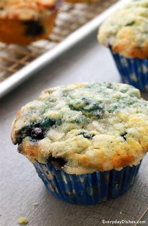 super moist blueberry muffins recipe