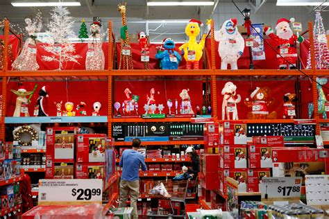 post christmas decorations deals at home depot walmart