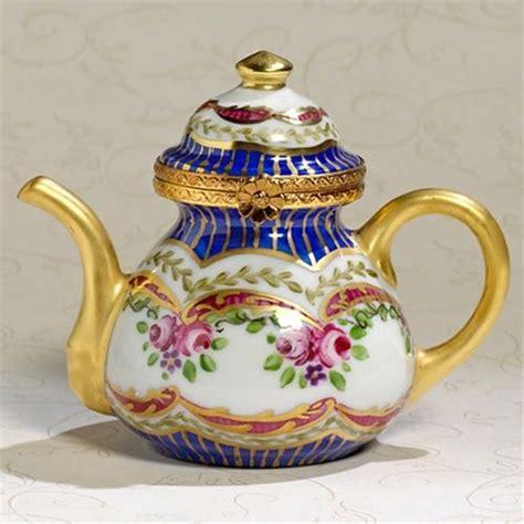 Limoges Sevres Teapot Box The Cottage Shop   Tea pots, Tea ...