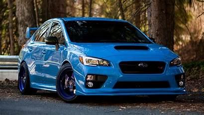 Subaru Wrx Sti Impreza Sports Wallpapers Cars