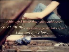 I M Sorry Love Quotes For Her Enchanting Love Quotes For Her To Say Sorry  I Wish There Was A Way The