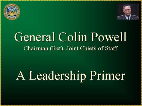 general colin powell  leadership