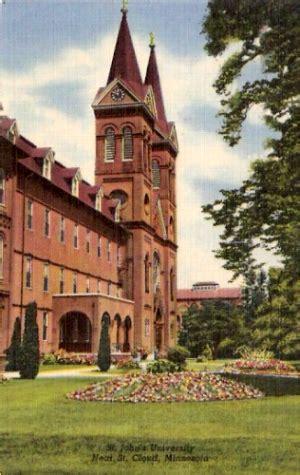 St Johns University, St Cloud, Minnesota Postcard