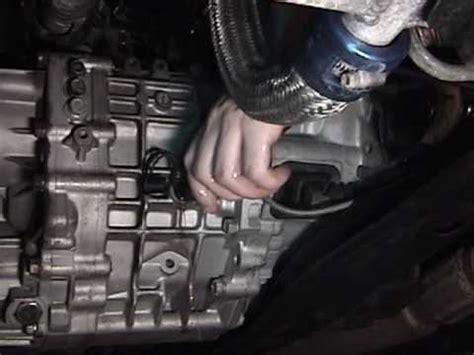 changing manual transaxle gear oil youtube