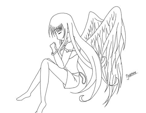 Anime Girl Coloring Pages