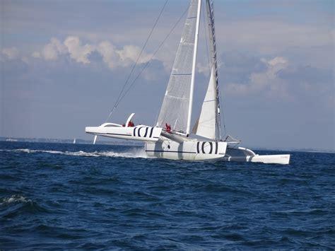 Sortie Trimaran Quiberon sortie en trimaran 60 orma baie de quiberon 26 juin