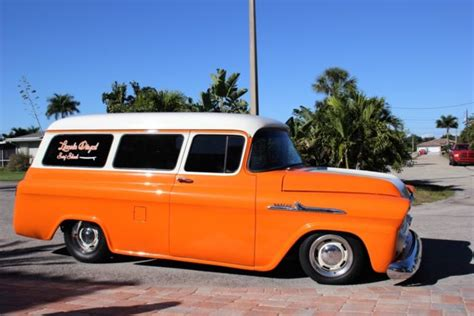 chevrolet apache suburban custom car chevy