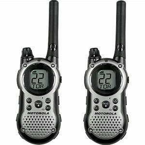 Motorola T9580same Talkabout 2-way Radios - Pair