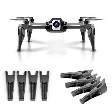 pcs heighten extender raise cm landing gear skid  parrot anafi rc drone sale banggoodcom