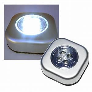 Led Beleuchtung Mit Batterie : led klebeleuchte mit 4 leds touch silber mit klebefoli ~ Whattoseeinmadrid.com Haus und Dekorationen