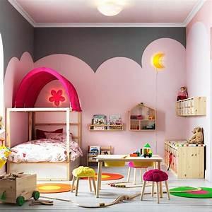 Couleur Chambre Bébé Fille : couleur chambre petite fille ~ Dallasstarsshop.com Idées de Décoration