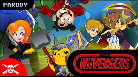 The Wiivengers An Avengers Nintendo Verse Mashup