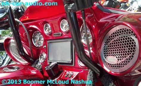 harley davidson custom fairing stereo navigation