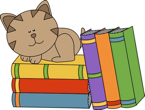 books clipart cat sleeping on a stack of books clip cat sleeping