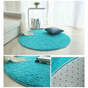 tapis salon carpet tapis chambre rond tapis shaggy yoga With tapis enfant avec canapé velours marron