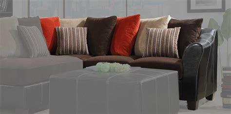 homelegance besty modular sectional sofa set chocolate